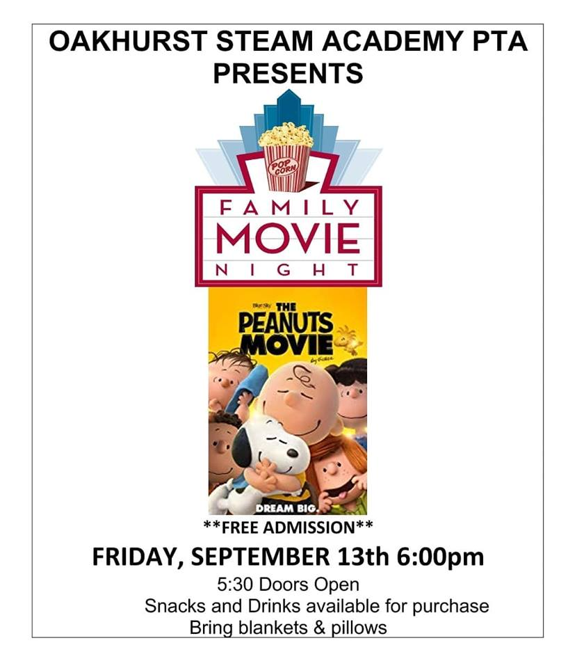 Oakhurst Movie Night